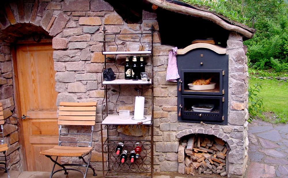 Holz Kochen